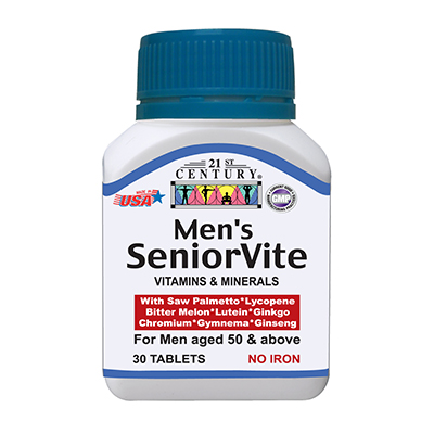 MEN'S SENIORVITE, Nutrition for FOR MEN OVER 50